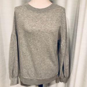 Joie gray sweatshirt soft size S